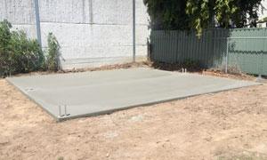 Concrete Slabs & Driveways